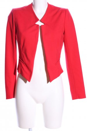 Forever 21 Jerseyblazer rot Casual-Look