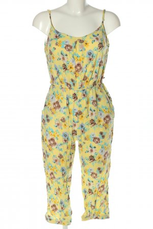 Forever 21 Jumpsuit Allover-Druck Casual-Look