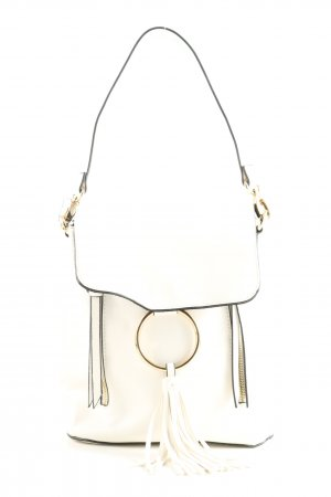 Forever 21 Mini sac à dos blanc style d'affaires