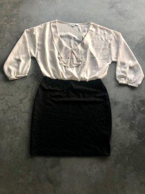 Forever 21 Kleid Dress, gr. L / Large , schick, modern, edel, Blogger-Stil, sehr angenehm zu tragen, ¾ lange Ärmel, perfekter Stil für jede Jahreszeit, dehnbarer Rock & elastische Taille, die perfekt zu Ihrem Körper passt