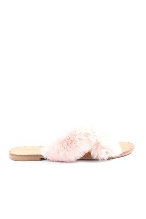 Forever 21 Sandalias cómodas nude-rosa elegante