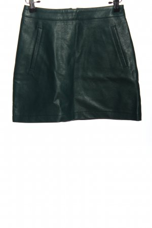 Forever 21 Faux Leather Skirt black casual look