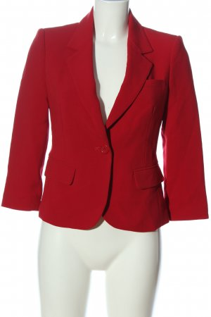 Forever 21 Kurz-Blazer rot Business-Look