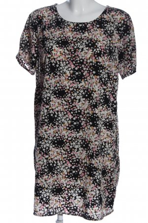 Forever 21 Kurzarm-Bluse Allover-Druck Casual-Look