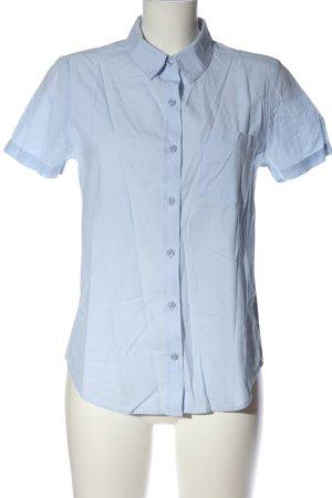 Forever 21 Camisa de manga corta azul estilo «business»