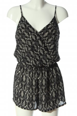 Forever 21 Kurzer Jumpsuit allover print casual look