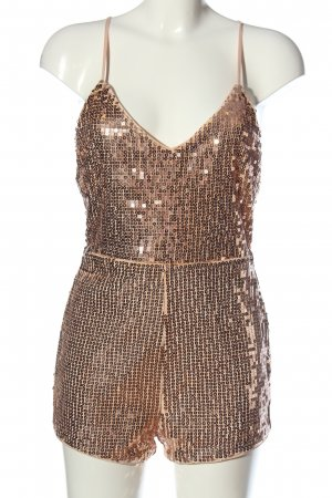 Forever 21 Kurzer Jumpsuit multicolored glittery