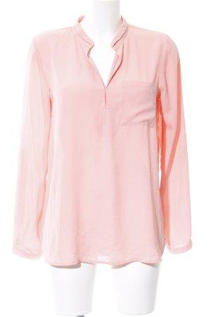 Forever 21 Langarm-Bluse pink Elegant