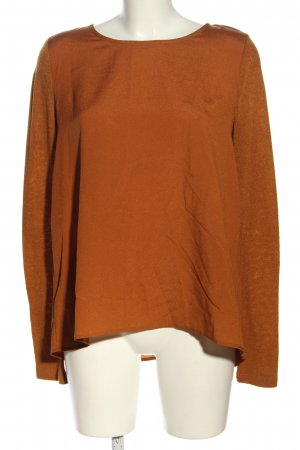 Forever 21 Langarm-Bluse hellorange Casual-Look