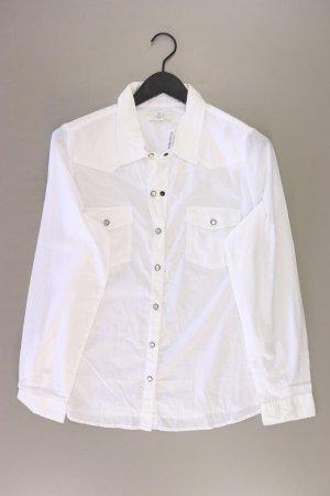 forever 21 Langarmbluse Größe XL weiß aus Baumwolle