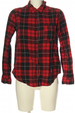 Forever 21 Langarmhemd Allover-Druck Casual-Look