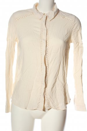Forever 21 Langarmhemd creme Business-Look