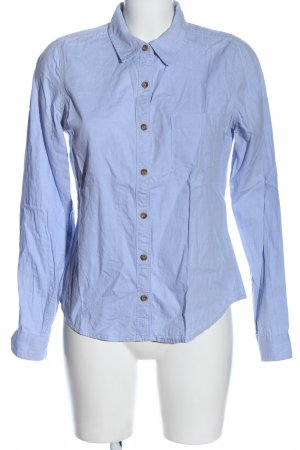 Forever 21 Langarmhemd blau Business-Look