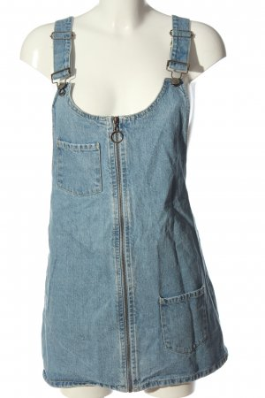 Forever 21 Pinafore Overall Skirt blue casual look