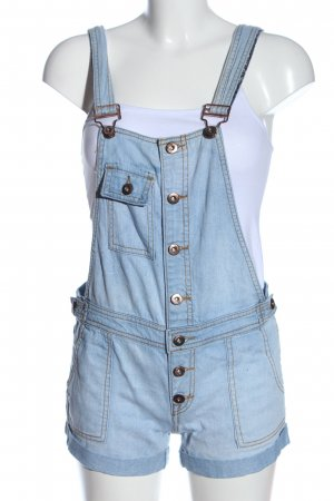 Forever 21 Bib Shorts blue casual look