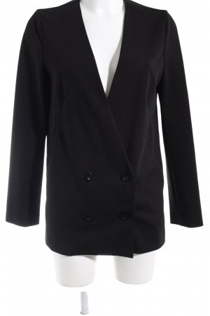 Forever 21 Blazer largo negro estilo «business»