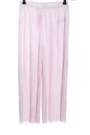 Forever 21 Marlene Trousers pink striped pattern casual look