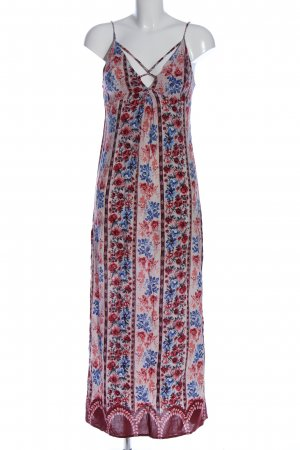 Forever 21 Maxikleid Allover-Druck Casual-Look