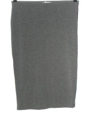 Forever 21 Falda stretch gris claro moteado look casual