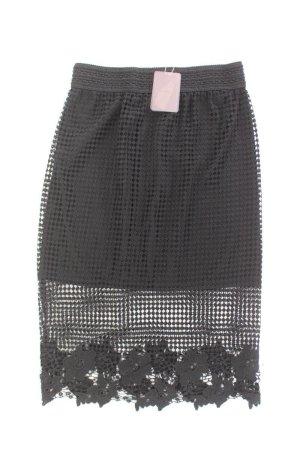 Forever 21 Midi Skirt black polyester