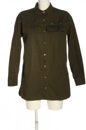 Forever 21 Military Jacket khaki casual look