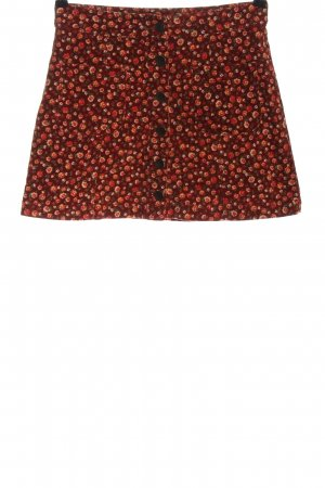 Forever 21 Minirock rot Allover-Druck Casual-Look