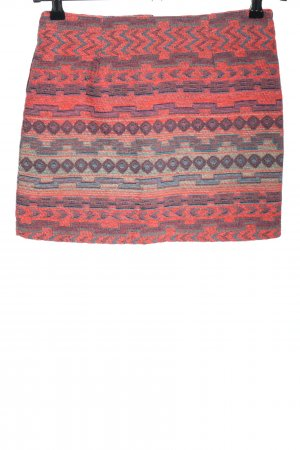 Forever 21 Minirock Allover-Druck Casual-Look