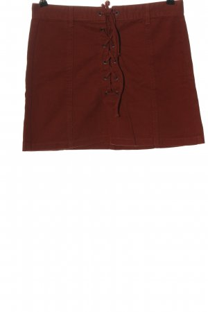 Forever 21 Minirock rot Casual-Look