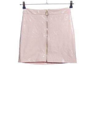 Forever 21 Minirock pink Glanz-Optik