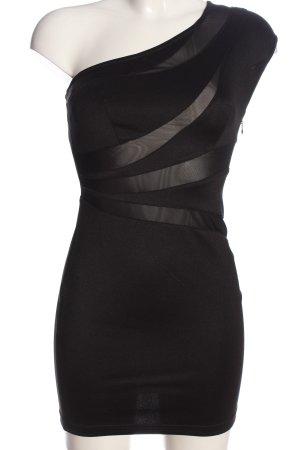 Forever 21 Robe asymétrique noir style festif