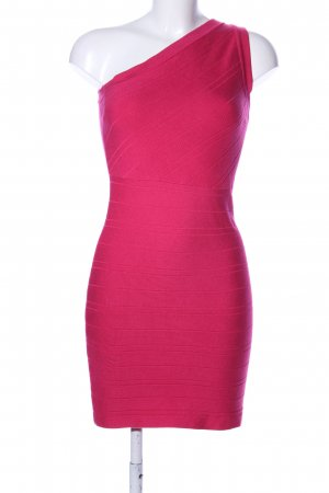 Forever 21 One Shoulder Dress pink elegant