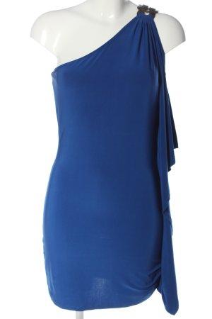 Forever 21 Vestido de un hombro azul elegante
