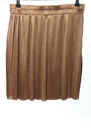 Forever 21 Jupe plissée brun style décontracté