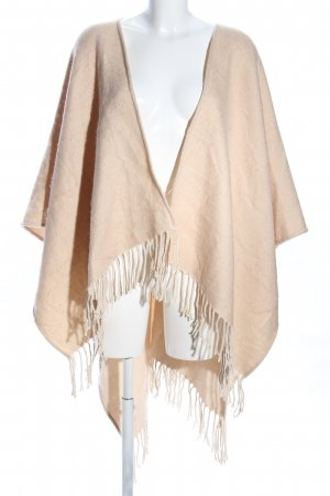 Forever 21 Poncho crema look casual