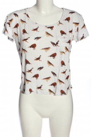 Forever 21 Print-Shirt Allover-Druck Casual-Look