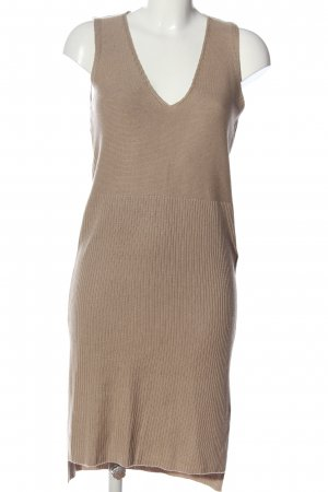 Forever 21 Swetrowa sukienka brązowy W stylu casual