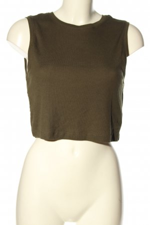 Forever 21 Ribbed Shirt bronze-colored casual look