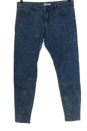 Forever 21 Jeansy rurki niebieski W stylu casual