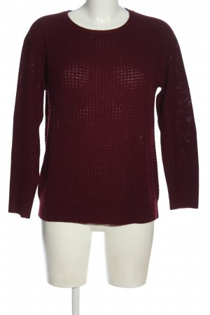 Forever 21 Rundhalspullover rot Casual-Look