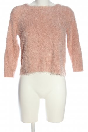 Forever 21 Rundhalspullover pink Casual-Look