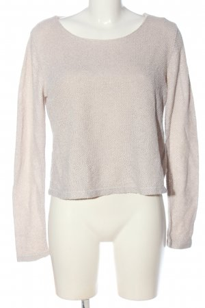 Forever 21 Rundhalspullover rosé Casual-Look