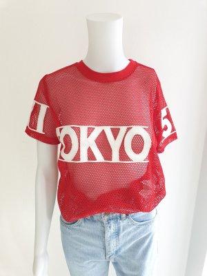 Forever 21 S see through T-shirt Tshirt longsleeve Tokyo Top Tanktop Bluse Pullover Pulli Blazer Hoodie Sweater