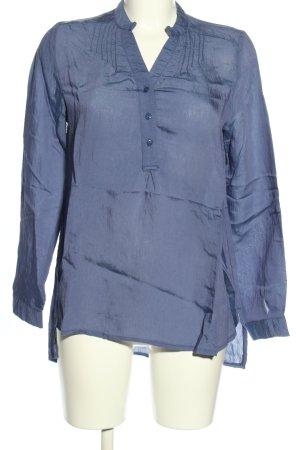 Forever 21 Schlupf-Bluse blau Business-Look