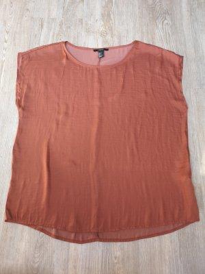 Forever 21 Shirt Bluse T-Shirt S Terracotta orange