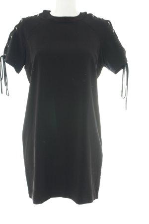 Forever 21 Shirtkleid schwarz Casual-Look