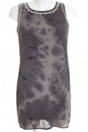 Forever 21 Shirtkleid taupe-creme Batikmuster Elegant