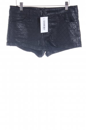 Forever 21 Shorts schwarz Steppmuster Party-Look