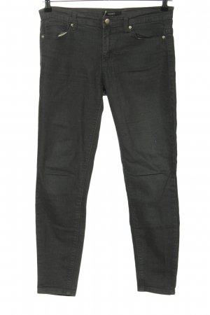 Forever 21 Skinny Jeans schwarz Casual-Look