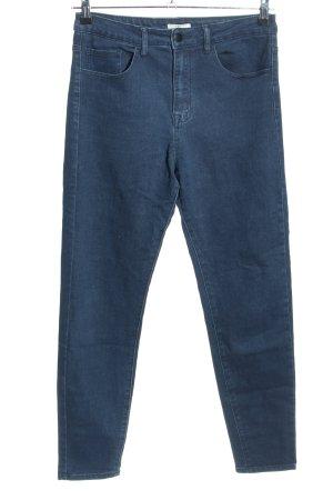 Forever 21 Slim Jeans blau Casual-Look