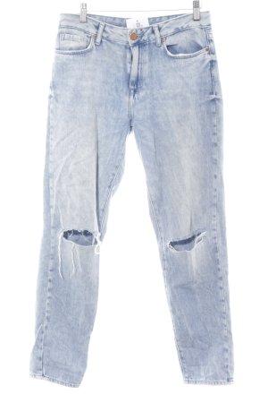 Forever 21 Slim Jeans himmelblau Casual-Look